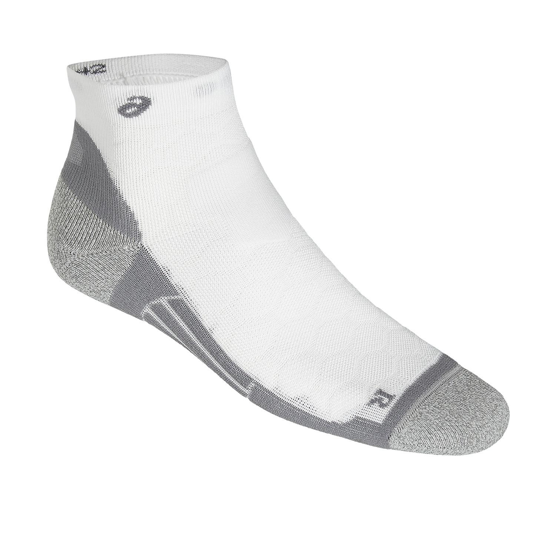 Asics Road Quarter Socks - White/Grey