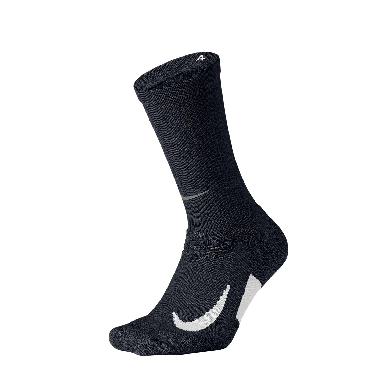 Nike Elite Cushioned Crew Socks - Black/White