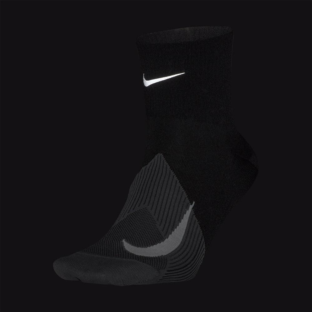 Nike Elite Lightweight Quarter Socks - Black