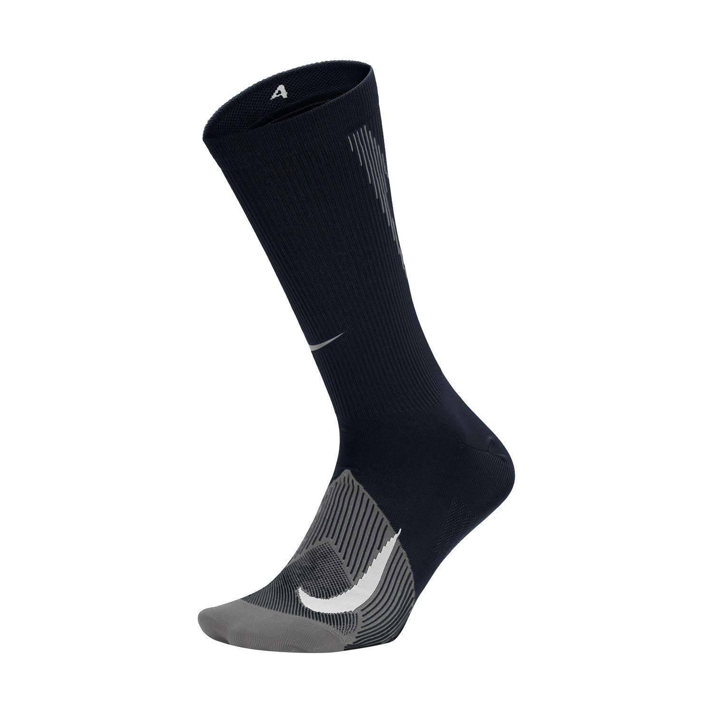 Nike Elite Lightweight Crew Socks - Black/Grey