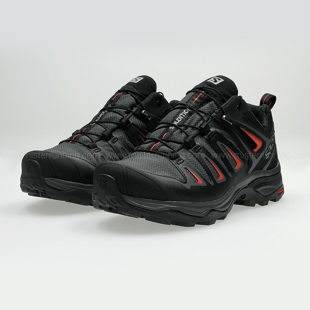 Salomon X Ultra 3 GTX - Black/Grey/Red