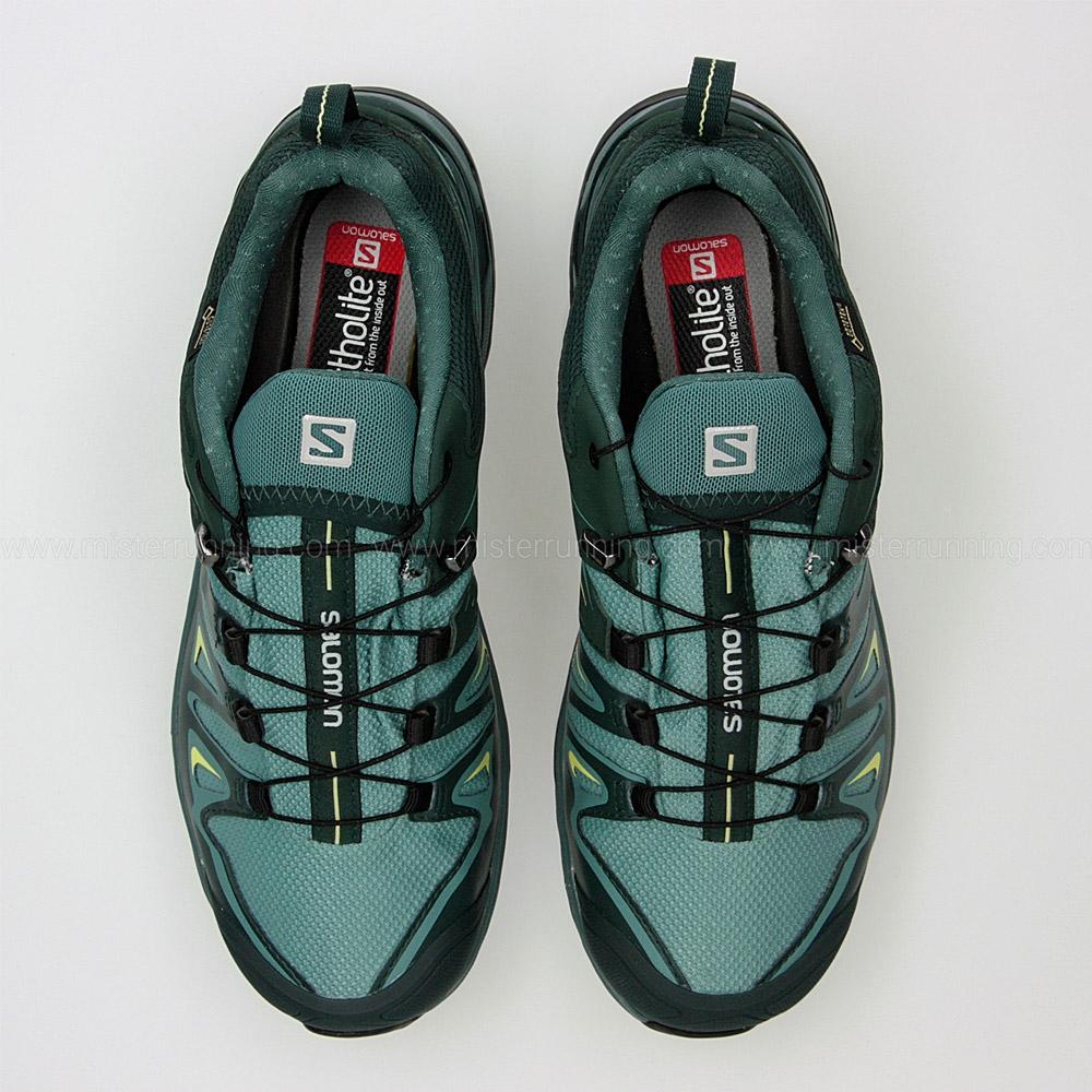 Salomon X Ultra 3 GTX - Mint Green/Green