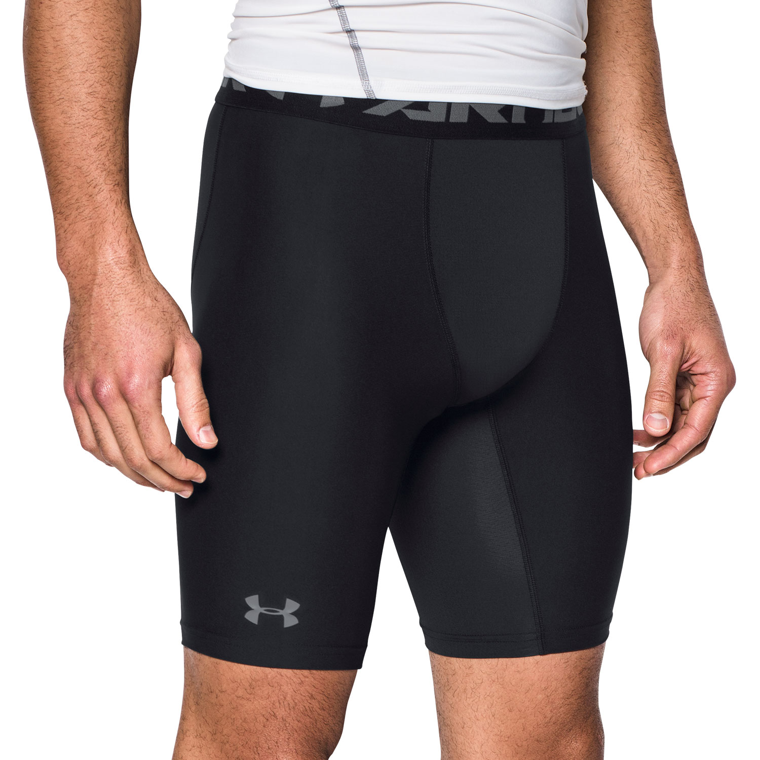 Under Armour HeatGear Armour Short Compression Tights - Black