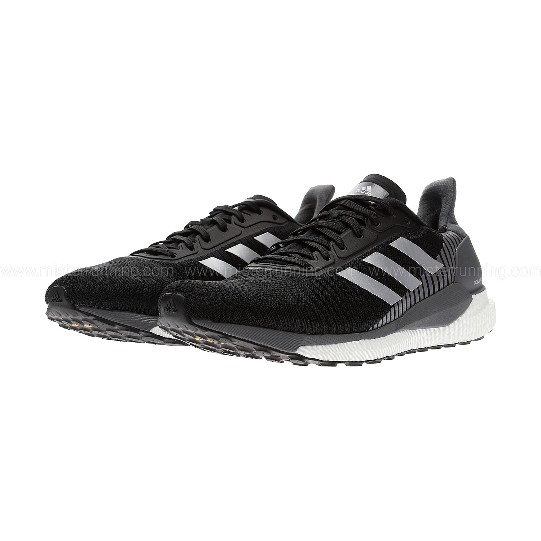 Adidas Solar Glide ST 19 - Core Black/Silver Metallic/Grey Five