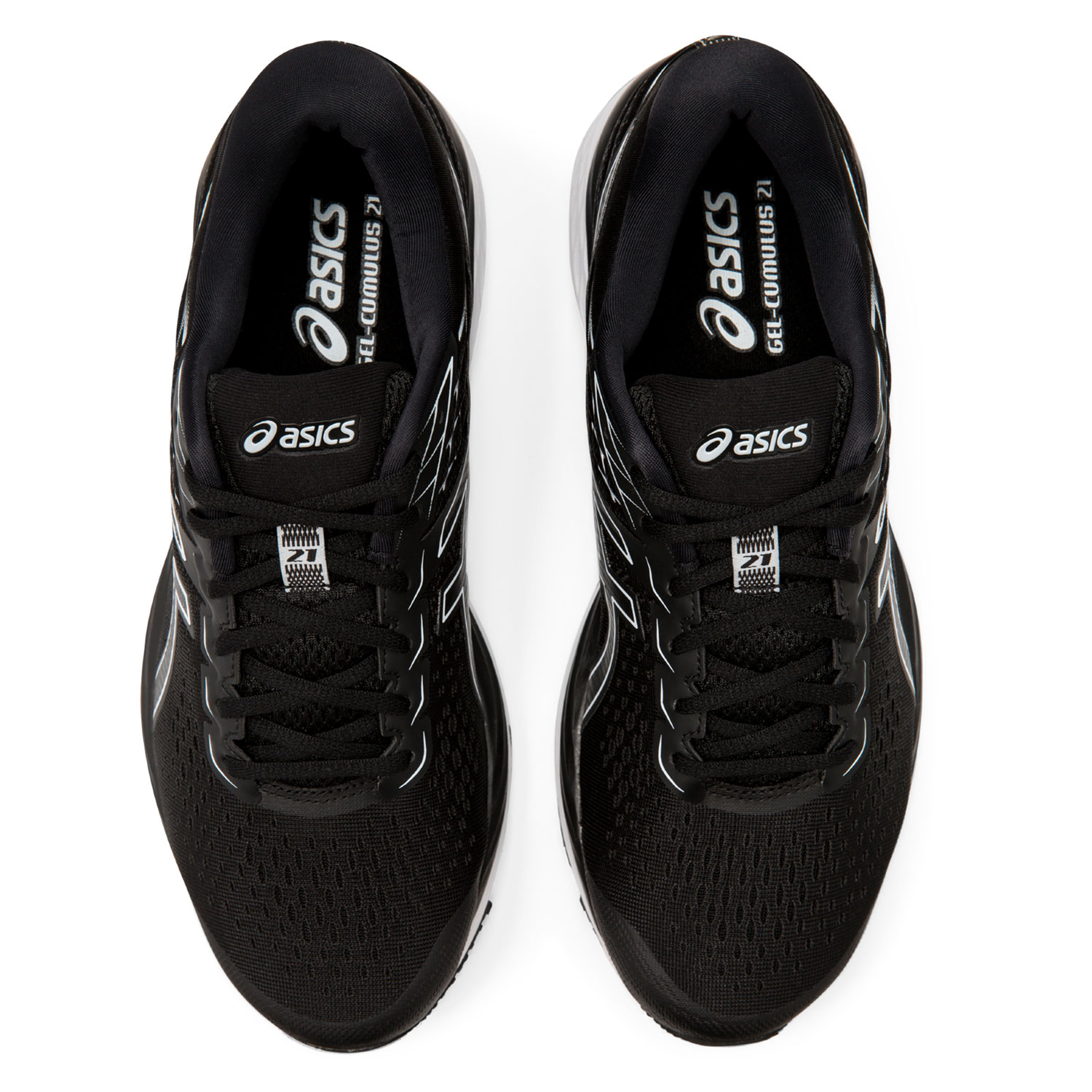 Asics Gel Cumulus 21 - Black/White
