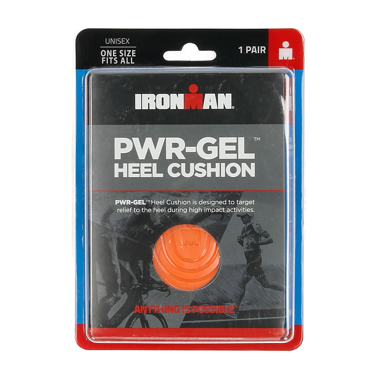 Ironman Pwr Gel Heel Cushion