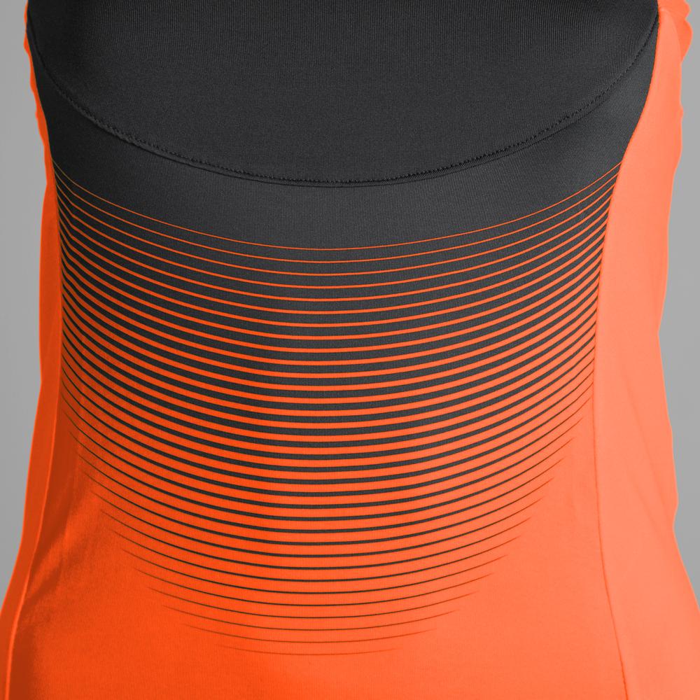 Joma Elite VI Tank - Orange Fluo/Black