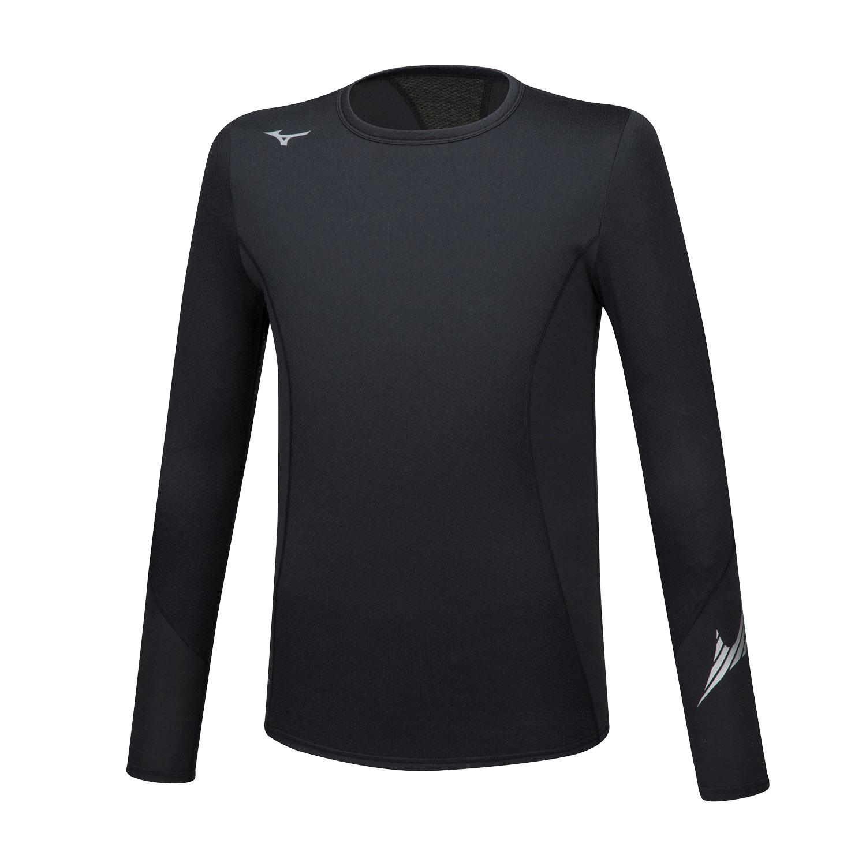 Mizuno Virtual Body G2 Crew Shirt - Black