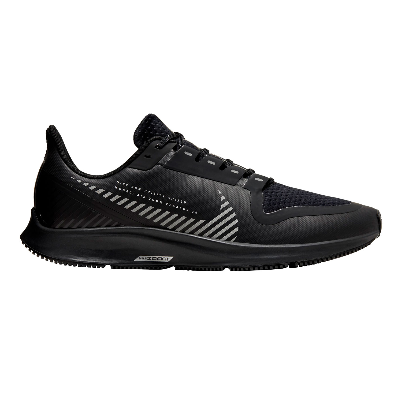 Nike Pegasus 36 Shield Scarpe da Running Uomo Black