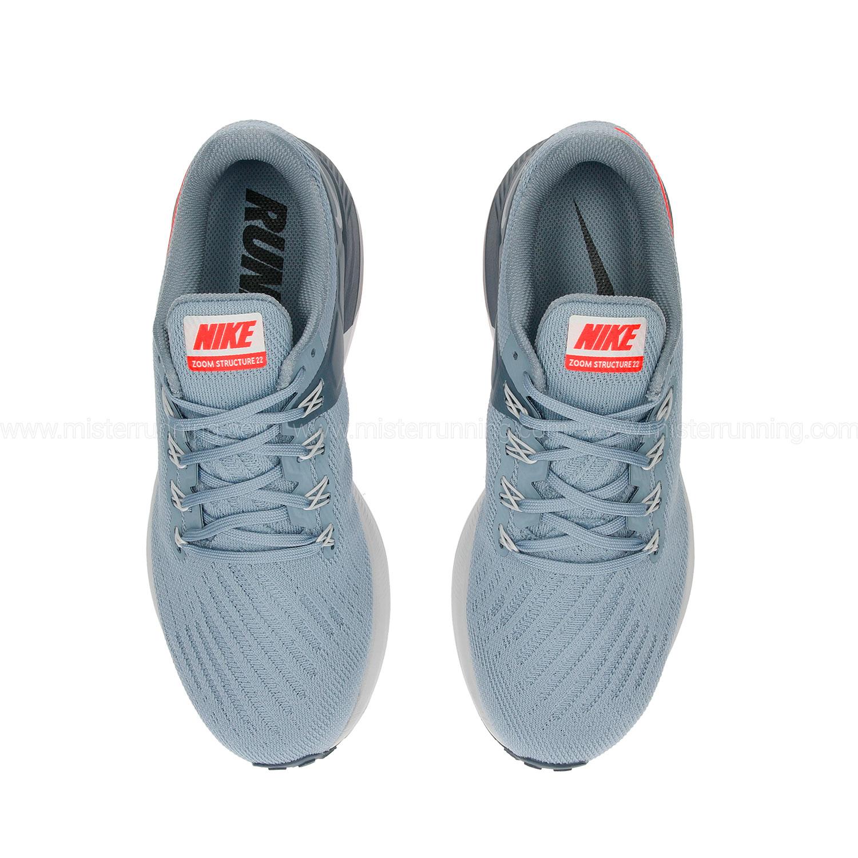 Nike Air Zoom Structure 22 Scarpe da Running Uomo Grigio  34MKs3