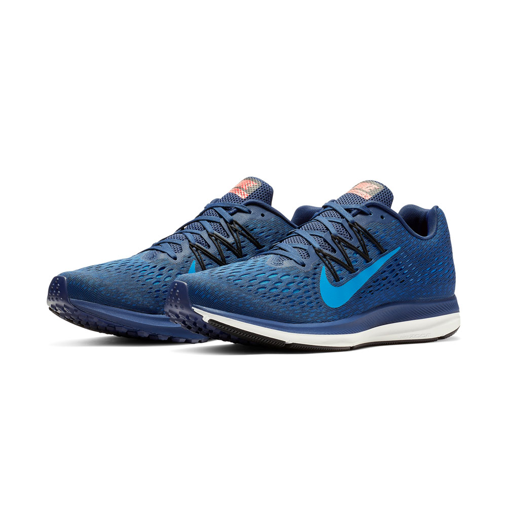 e6fcbcb3fe8 Nike Air Zoom Winflo 5 Men s Running Shoes - Navy Blue