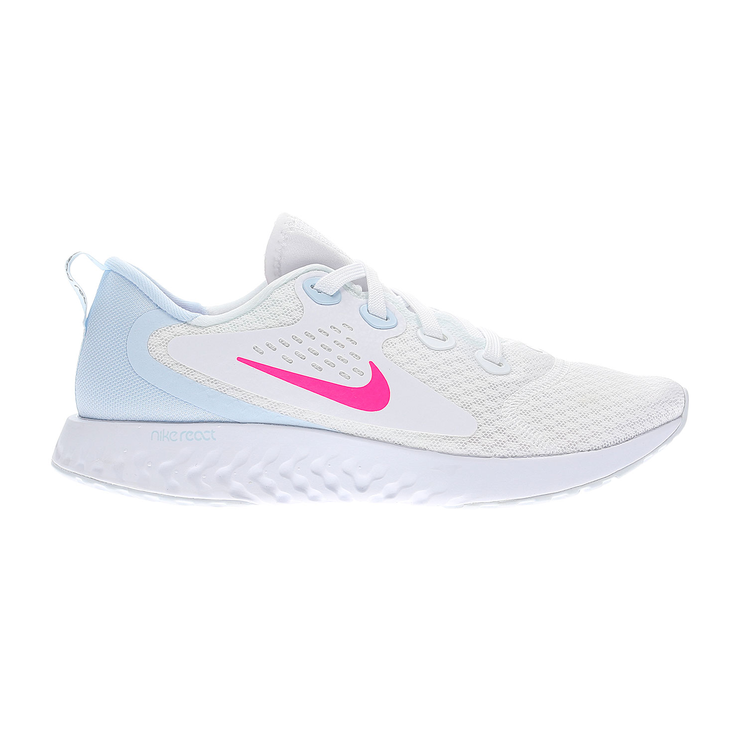 234f1afdf2df Nike Legend React Women's Running Shoes - White/Light Blue