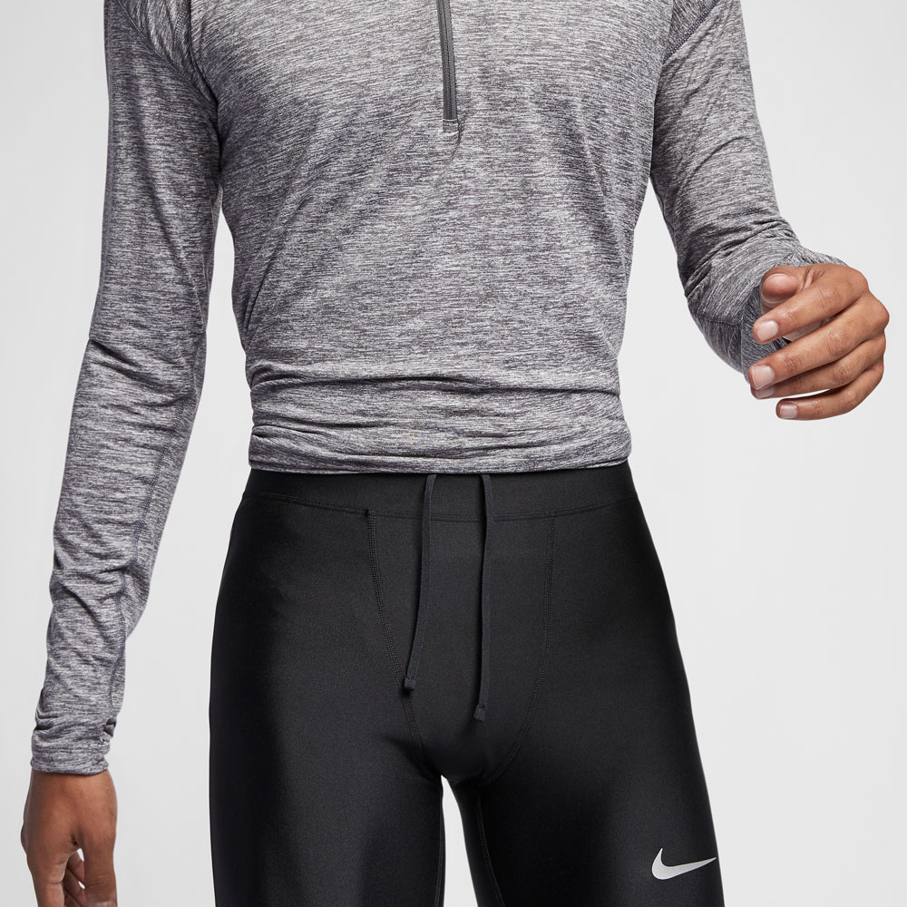 0fc2fbd5125a6 Nike Mobility Tights Running Uomo - Black/Silver