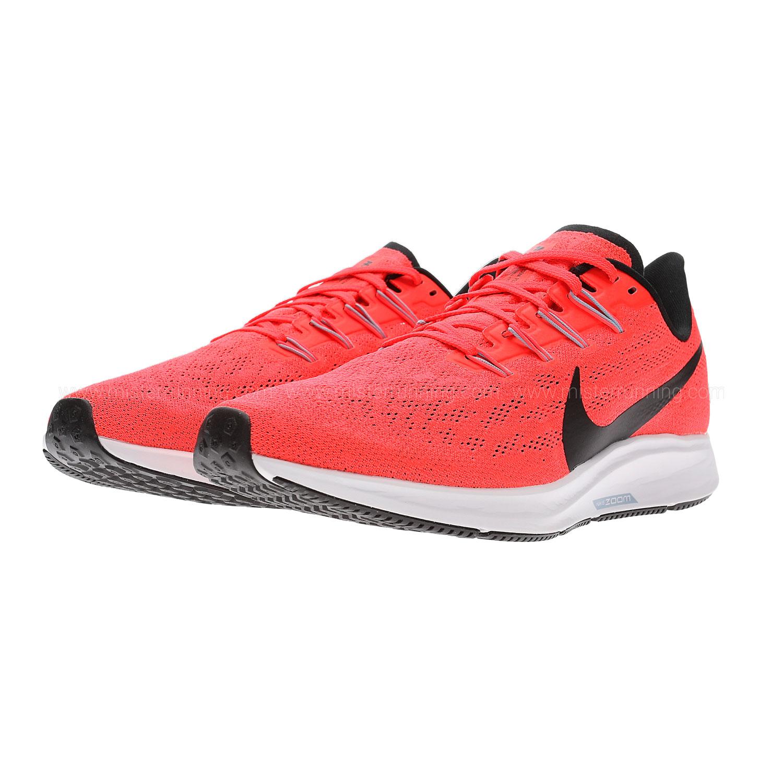 Nike Pegasus 36 Scarpe da Running Uomo Bright CrimsonBlack