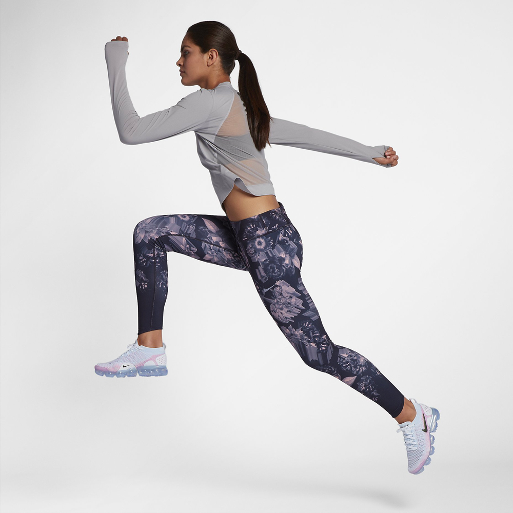 Nike Epic Lux Tights - Grey/Pink AH8174-081