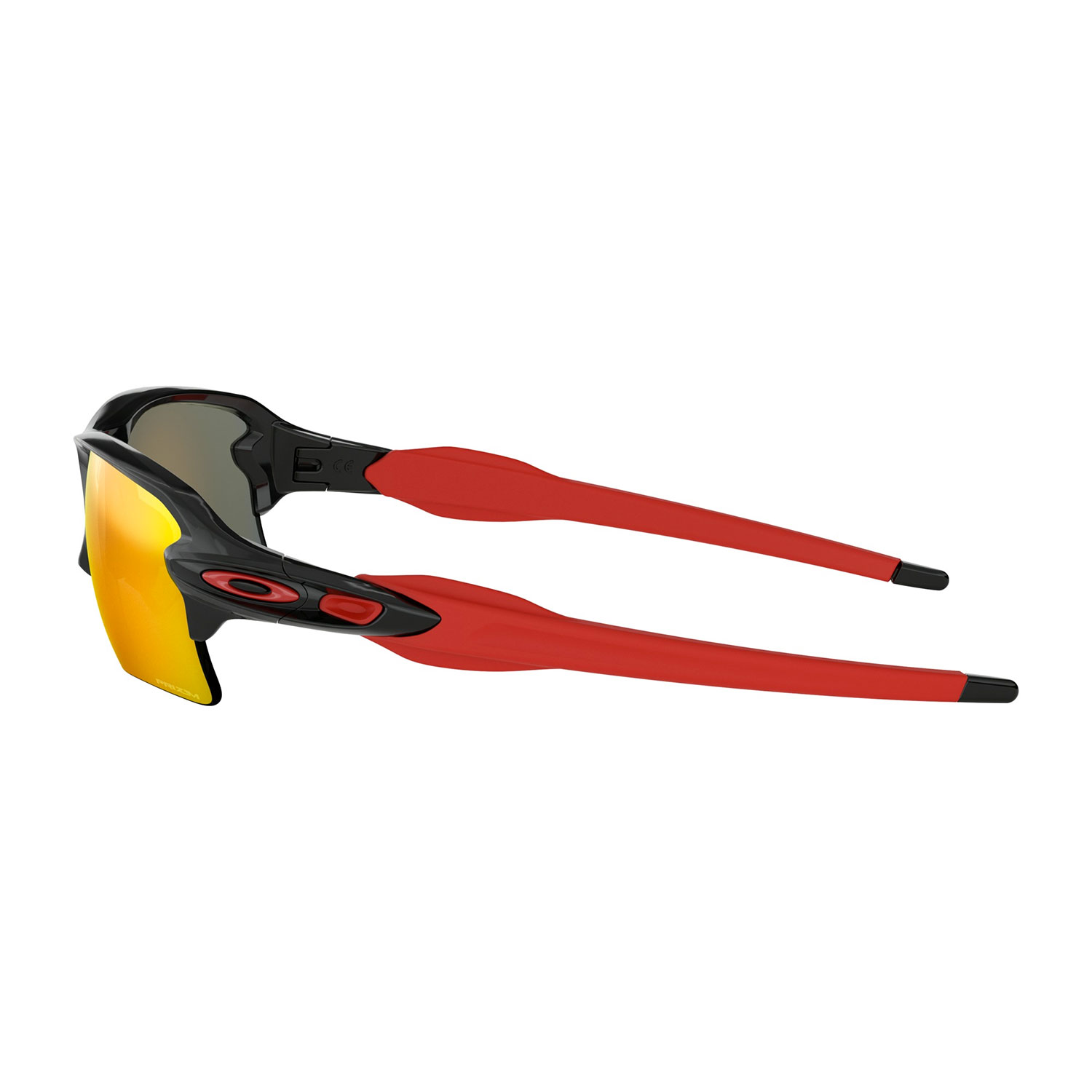 Oakley Flak 2.0 XL Glasses - Polished Black/Prizm Ruby