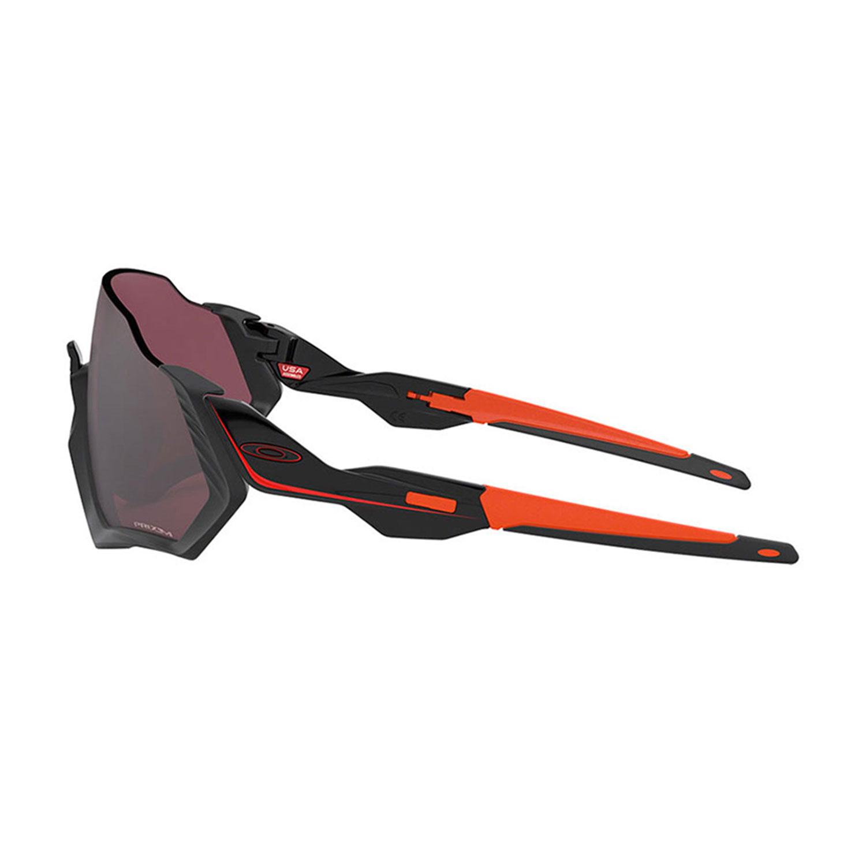 Oakley Flight Jacket Glasses - Matte Black/Prizm Road Black