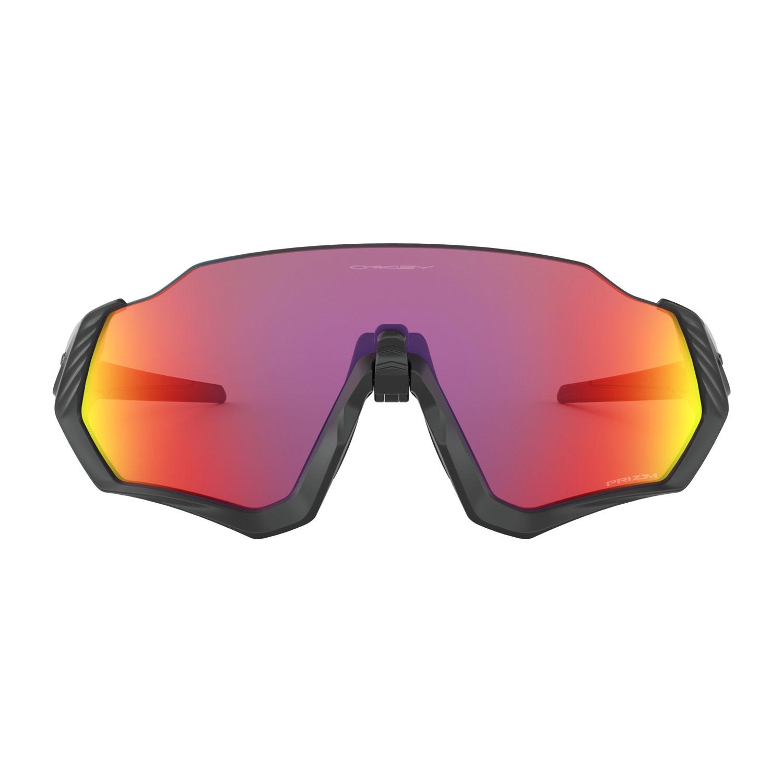 8eab57190c Oakley Flight Jacket Glasses - Polished Black/Prizm Road