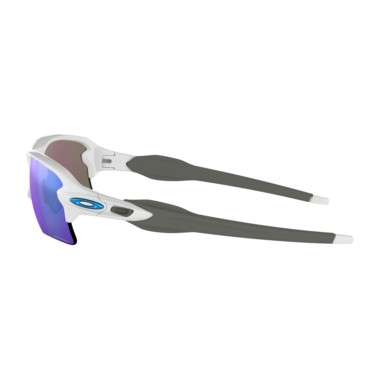 Oakley Flak 2.0 XL Glasses - Polished White/Prizm Sapphire