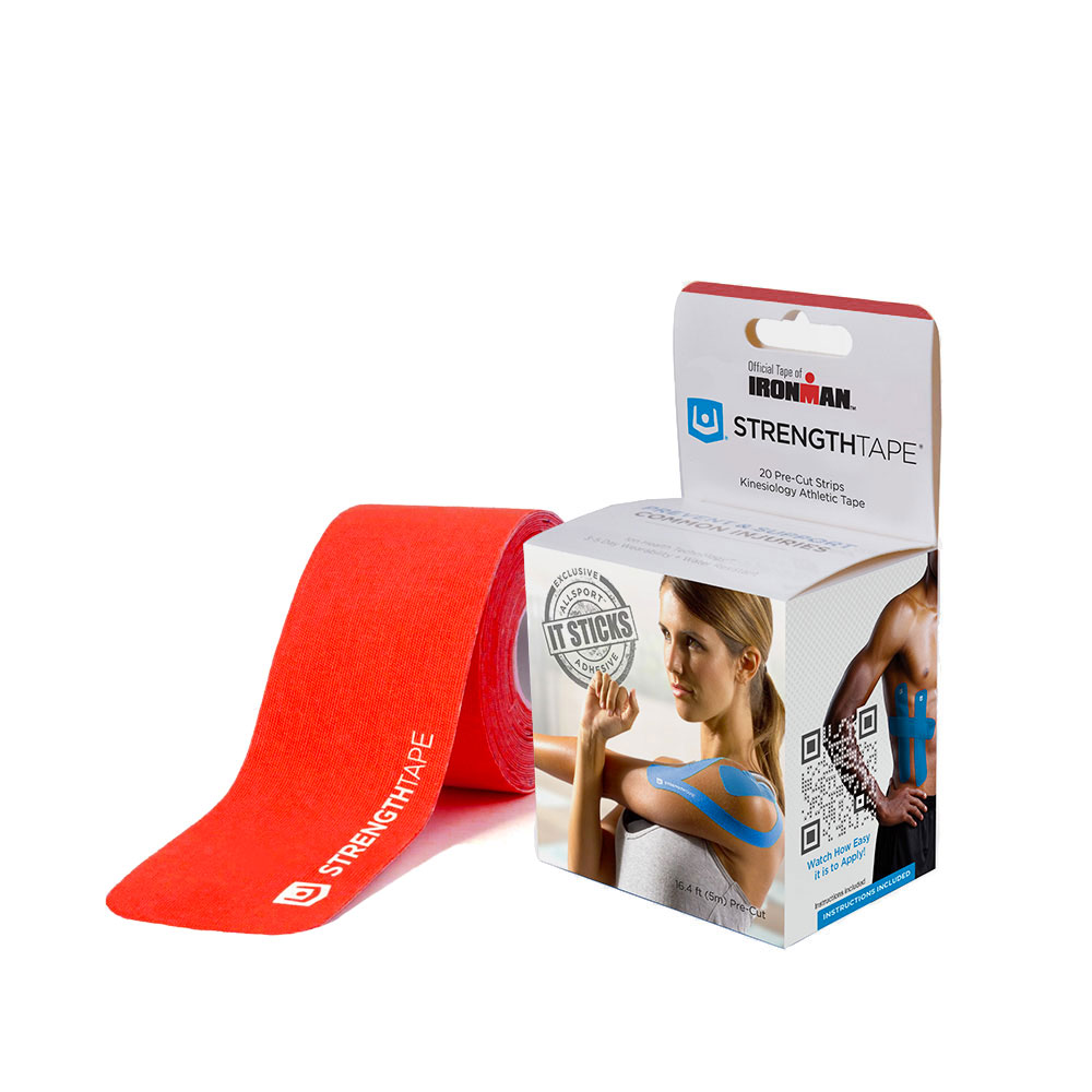 Ironman Strength 5 m Tape Roll - Red