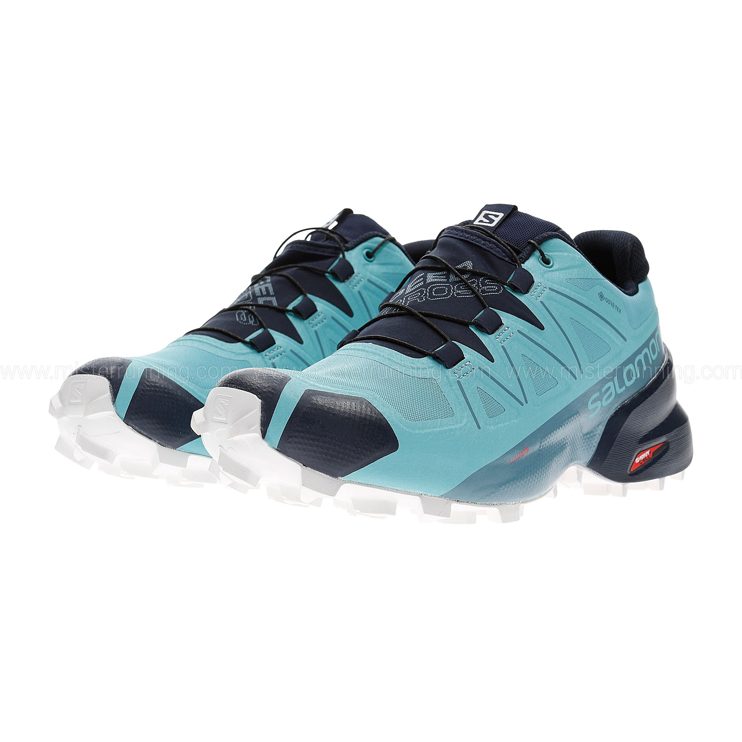 Salomon Speedcross 5 GTX - Meadowbrook/Navy Blazer/White San