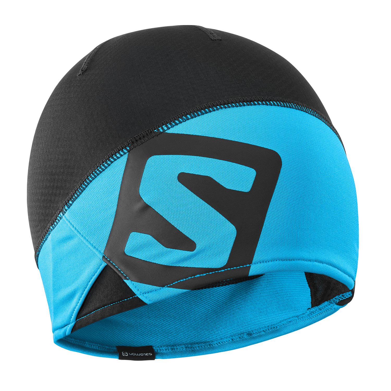 Salomon Rs Pro Beanie - Black/Trascend Blue