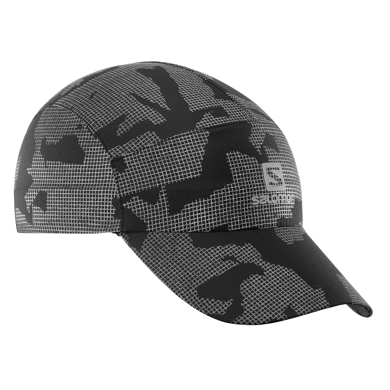 Salomon Reflective Cap - Reflective Black