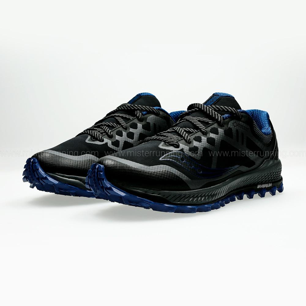 Saucony Peregrine 8 GTX - Black/Blue