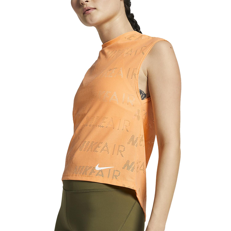 Nike Air T-Shirt - Orange/White