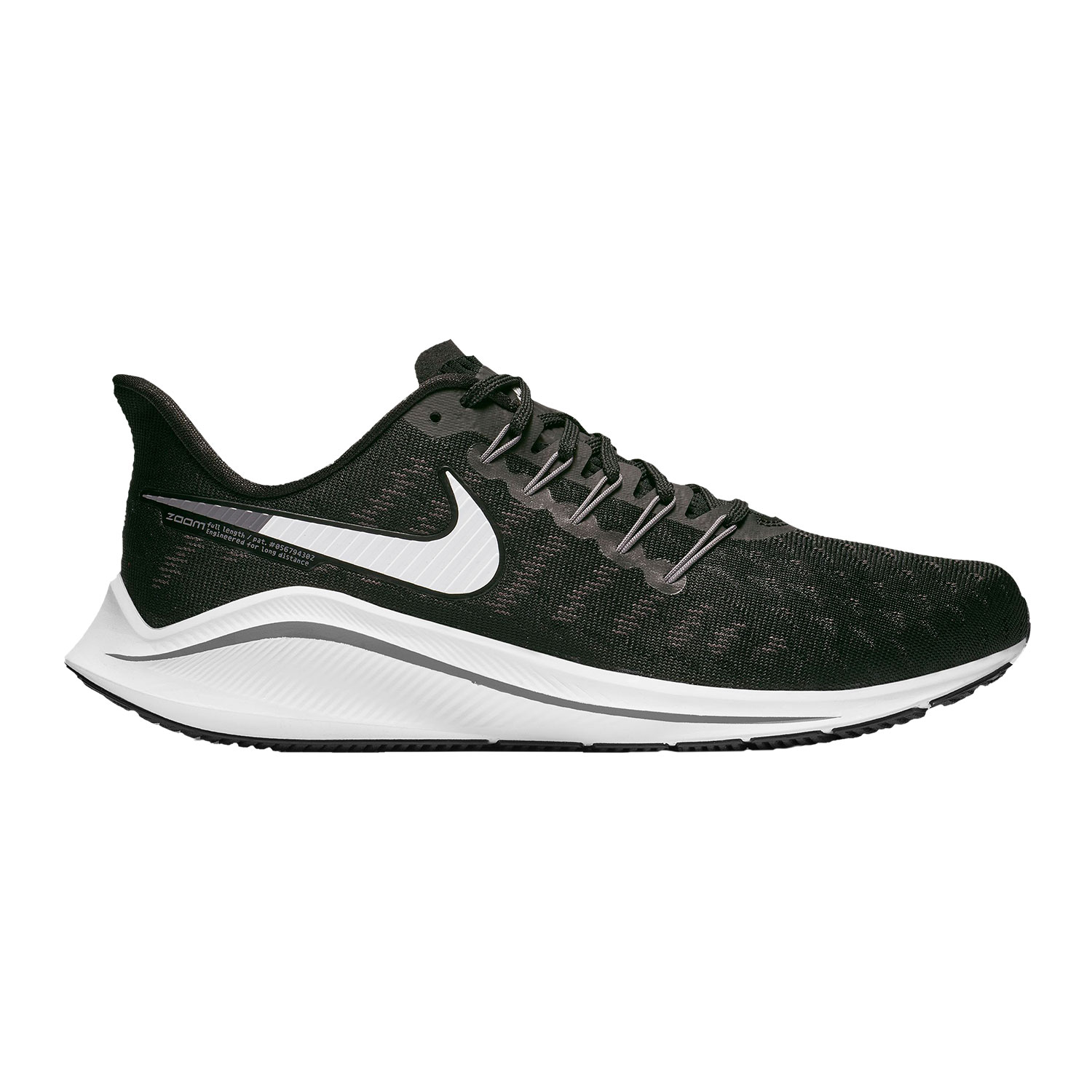 Nike Air Zoom Vomero 14 4E - Black/White/Thunder Grey