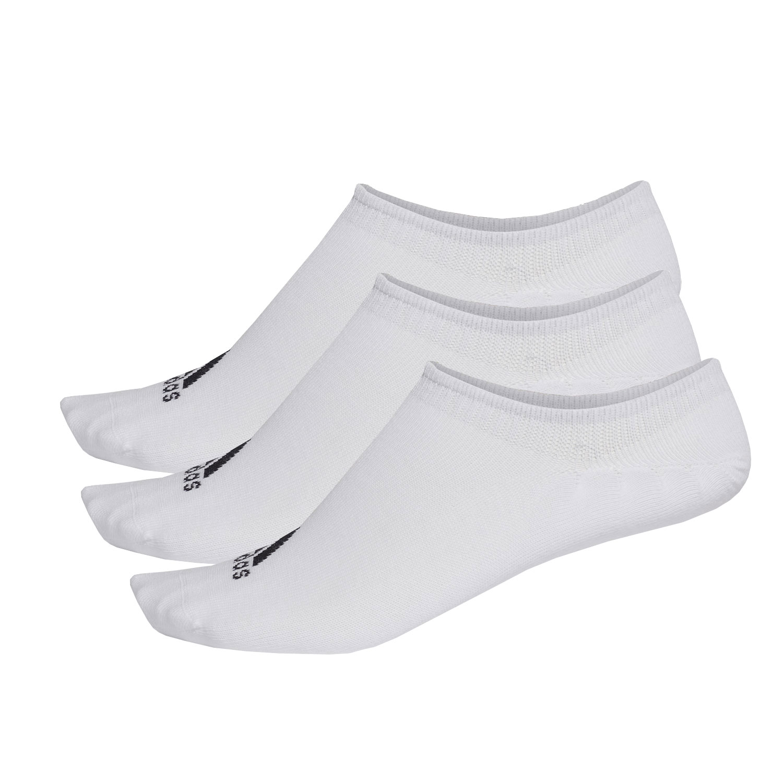 Adidas Performance Invisible x 3 Socks - White