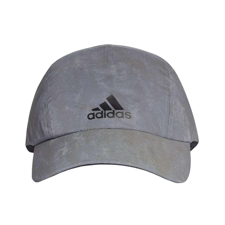 new styles 3d8aa ceb5e ... Adidas Run Reflective Womens Cap - SilverBlack ...