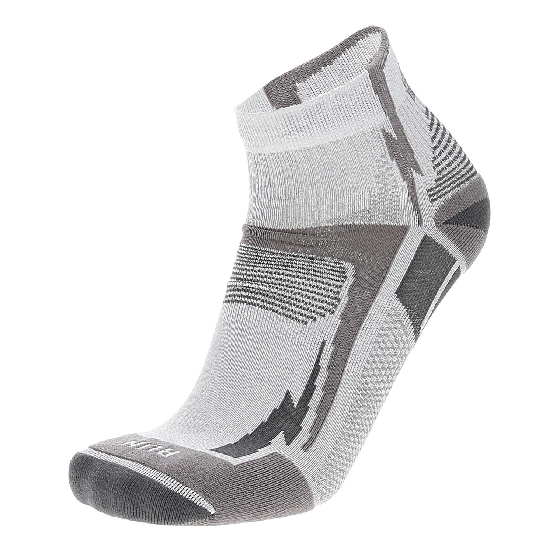 grande vendita migliori scarpe da ginnastica selezione migliore Mico Light X-Static Argento Calze da Running Uomo - White