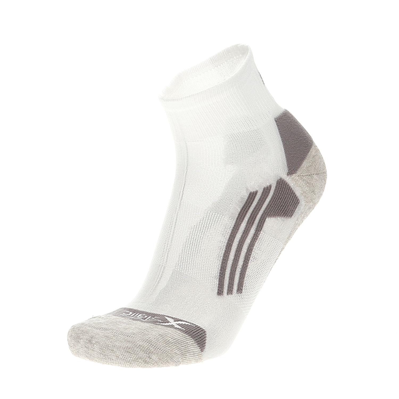 nuovo economico nuove foto rilasciare informazioni su Mico Multisport Argento X-Static Calze da Running - Bianco