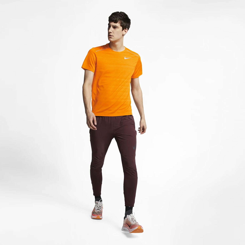 Nike Dry Miler T-Shirt - Orange