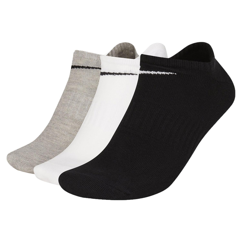 Nike Everyday Lightweight No Show x 3 Socks - Multicolor