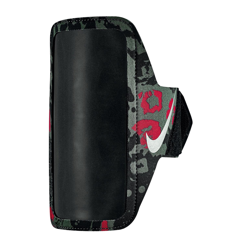 Nike Printed Lean Porta Smartphone - Crimson/Black/Silver