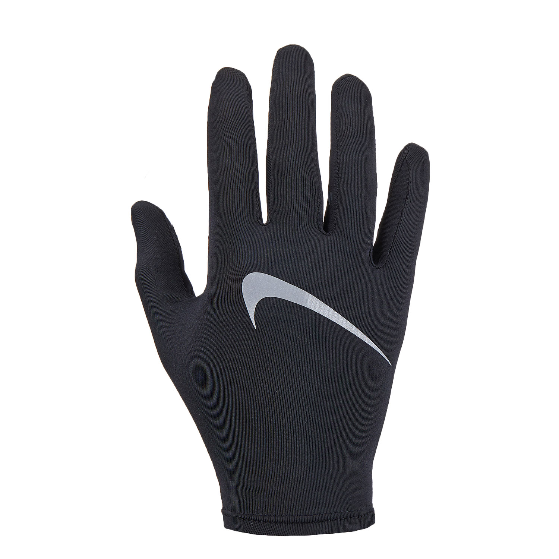 Nike Miler Running Guanti - Black/Silver