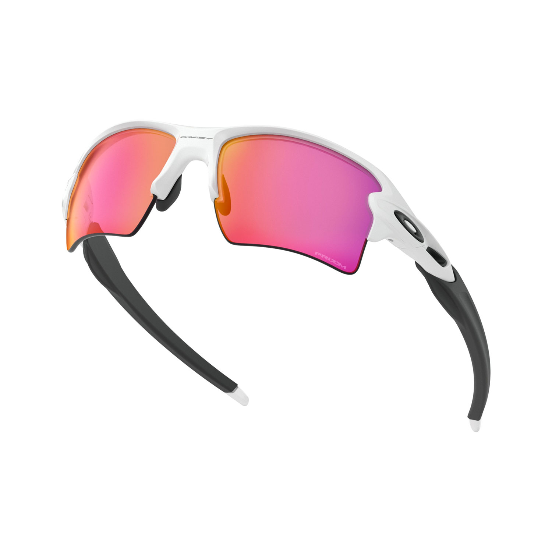 Oakley Flak 2.0 XL Glasses - Polished White/Prizm Outfield