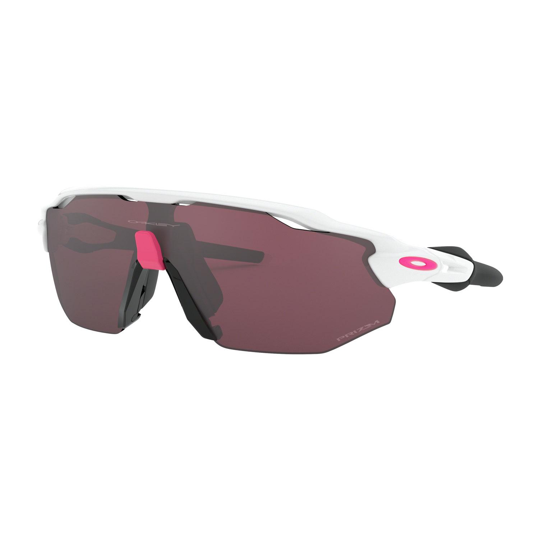 Oakley Radar Ev Advancer Glasses - Polished White/Prizm Road Black