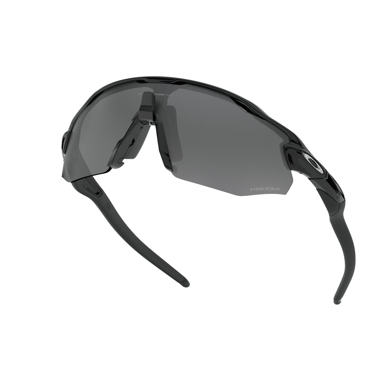 Oakley Radar Ev Advancer Glasses - Polished Black/Prizm Black Polarized