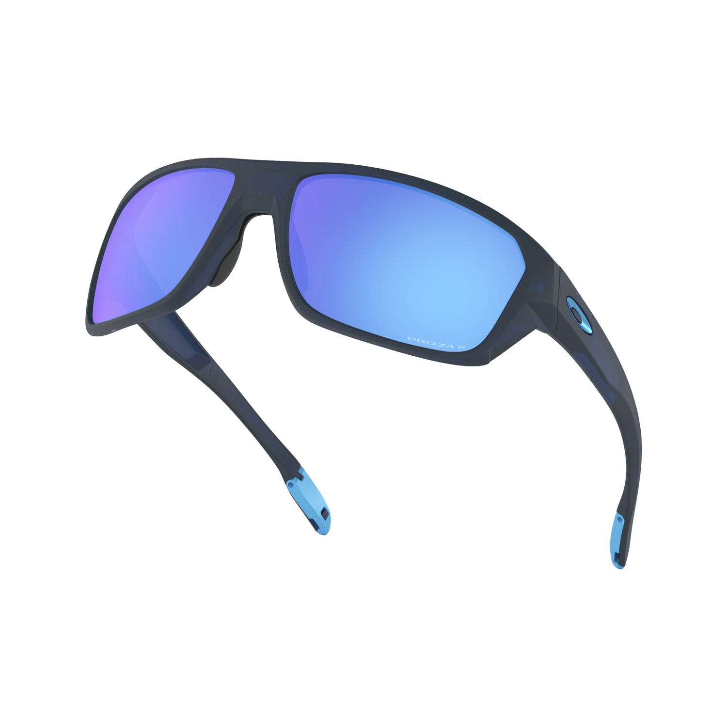 Oakley Split Shot Glasses - Matte Translucent Blue/Prizm Sapphire Polarized