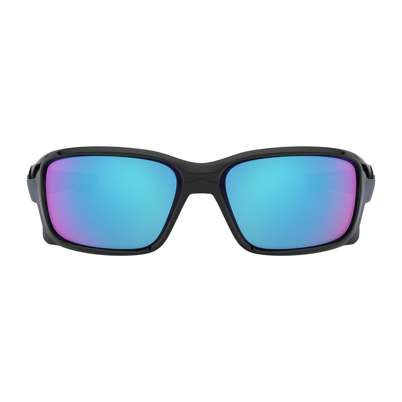 Oakley Straightlink Glasses - Polished Black/Sapphire Iridium