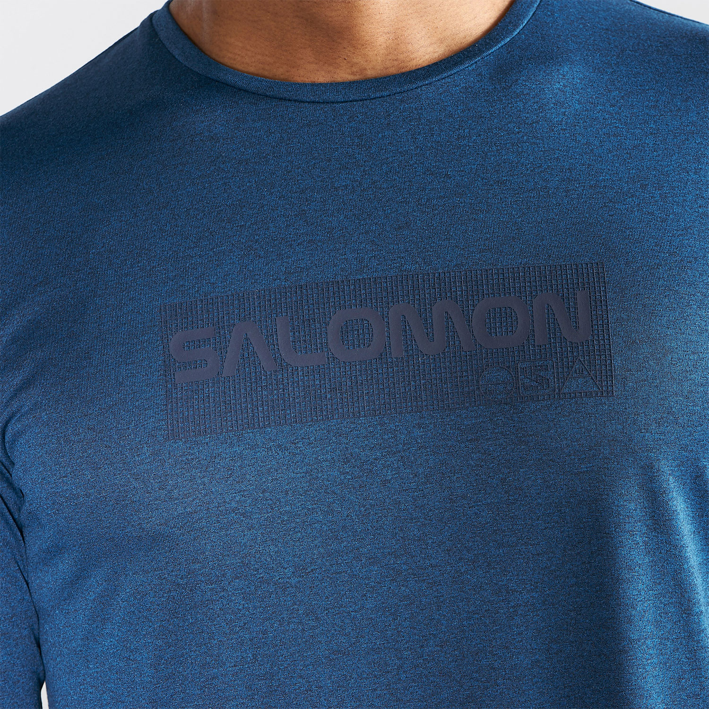 b5cb458ed50c Salomon Agile Graphic Maglia. La maglia da running uomo ...