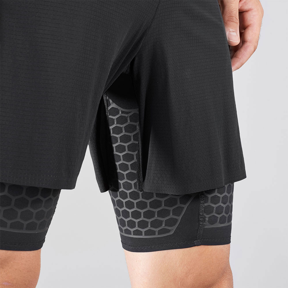 Salomon Exo Twinskin 2 in 1 Shorts - Black
