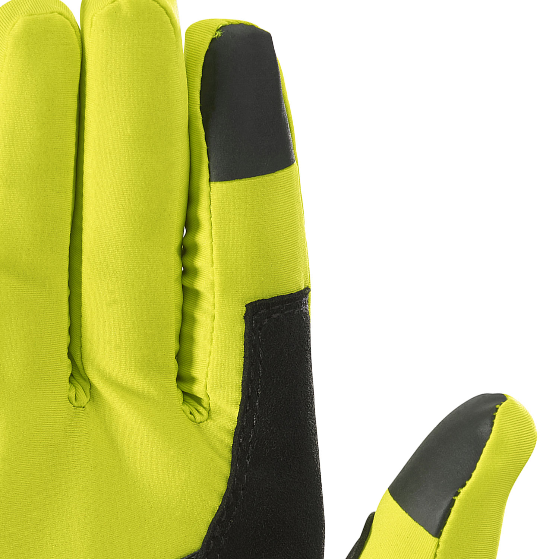 Salomon Pulse Gloves - Sulphur Spring/Black