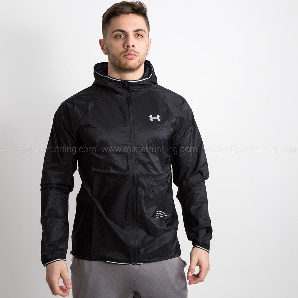 Under Armour Qualifier Storm Packable Jacket - Black