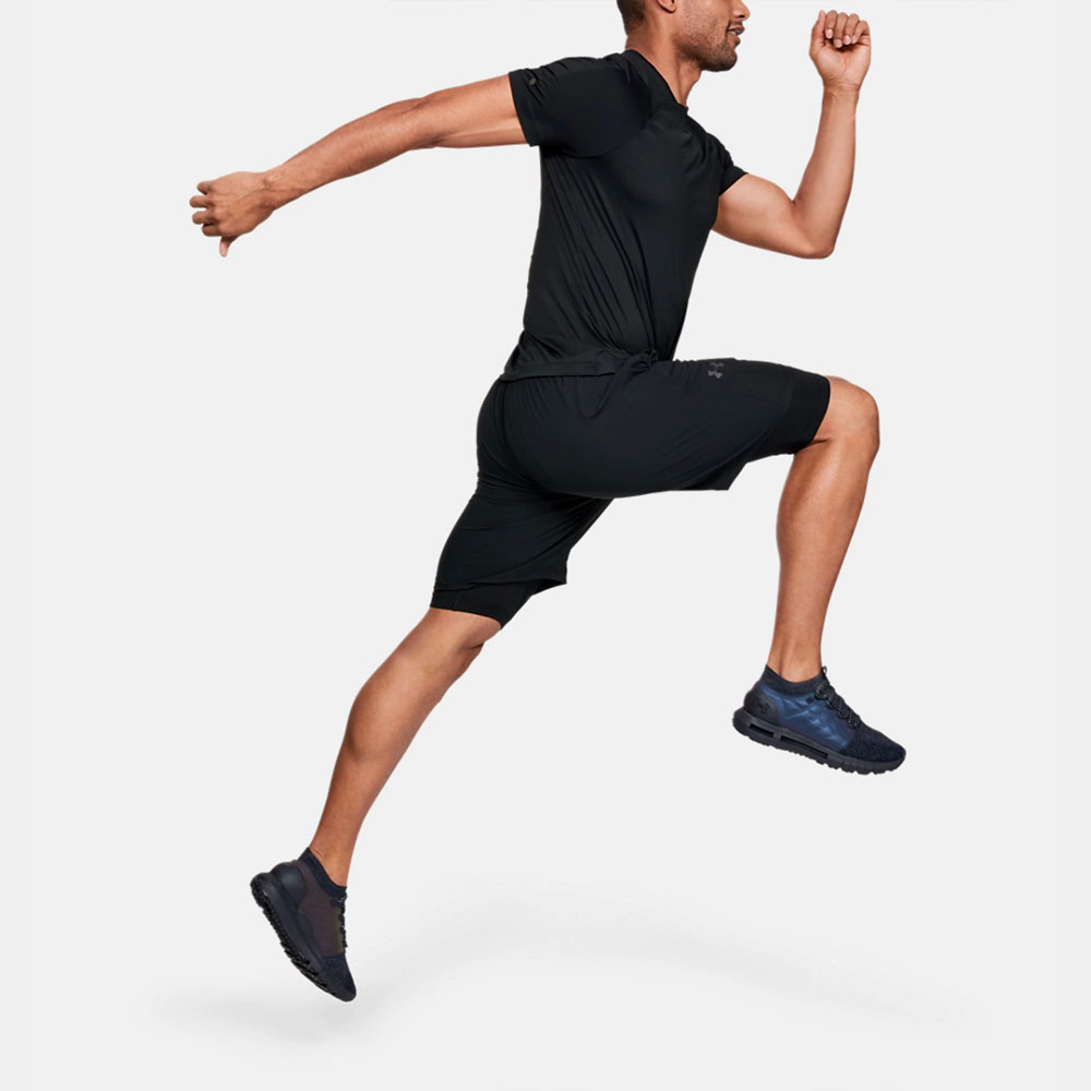 Under Armour Rush Compression Short Tights - Black