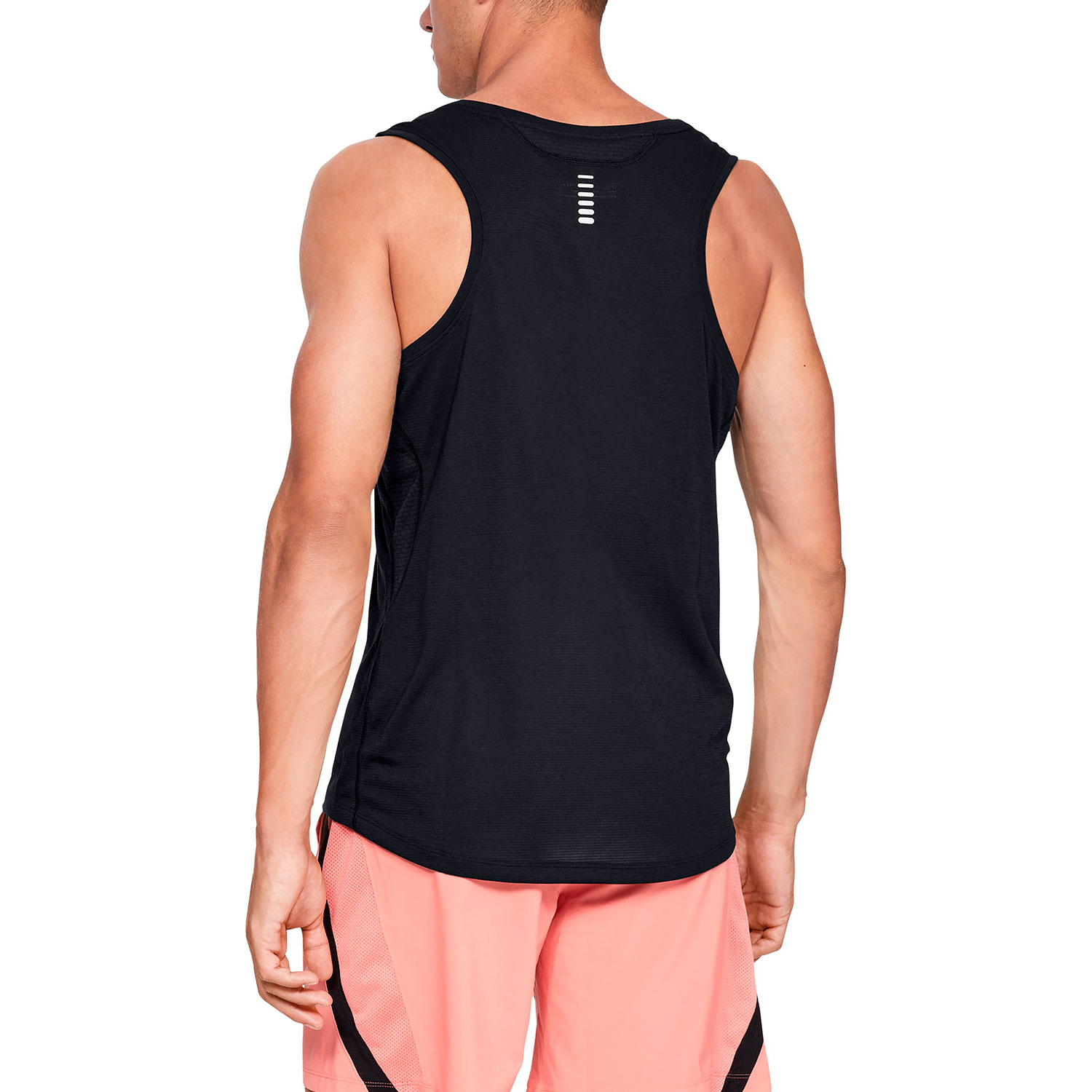 9fc613d2db4db2 Under Armour Streaker Tank - Black Under Armour Streaker Tank - Black