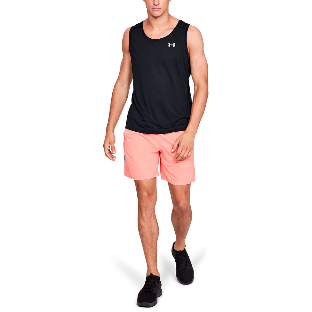d9dea0d0993d1a Under Armour Streaker Men s Running Tank - Black